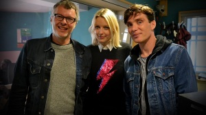 Flood, Lauren Laverne, & Cillian Murphy (Source: BBC Radio)