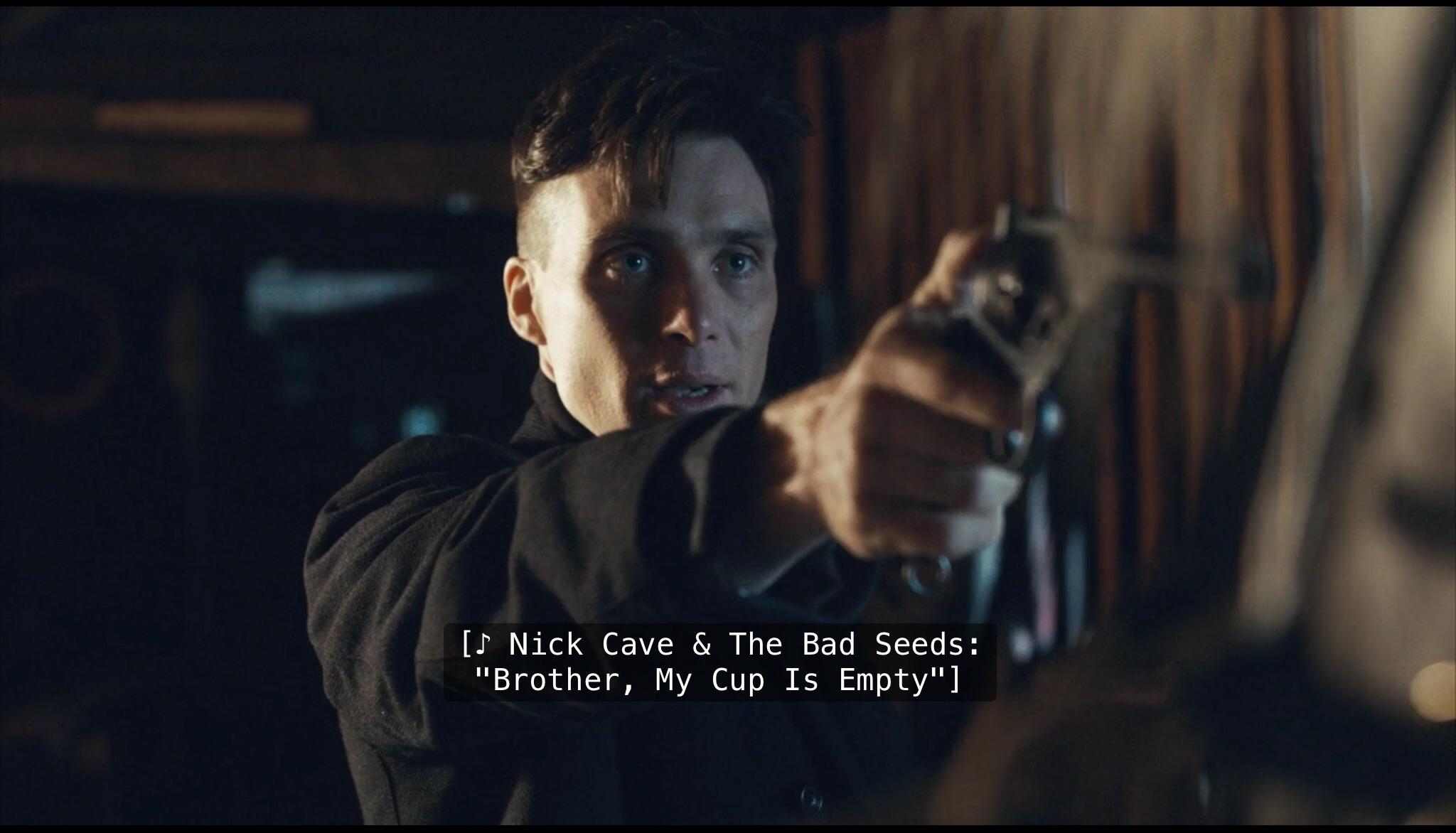 Nick Cave zandstra