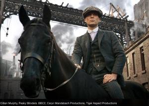 Tommy Shelby on horseback, Peaky Blinders Series 1