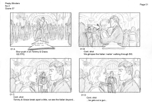Storyboard (Source: Rachel Garlick's Website)