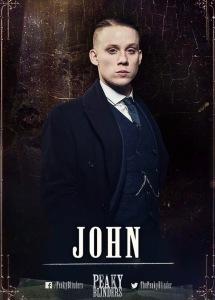 Joe Cole as John Shelby (Source: Robert Viglasky)