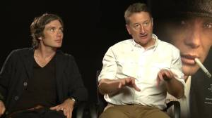 Steven Knight and Cillian Murphy